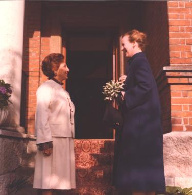 Ambassador Dolatshahi and Queen Margrette II of Denmark