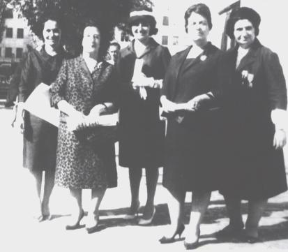 First Female Members of the Parliment