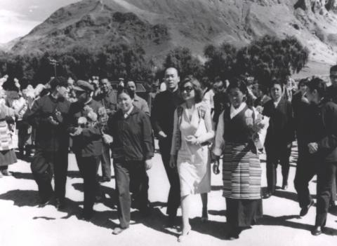 Princess Ashraf in China (1971 check with GR)