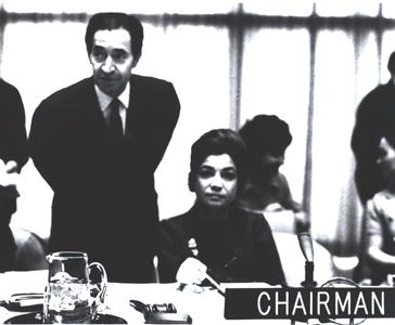 Princess Ashraf Chairs the HR Committee of the UN